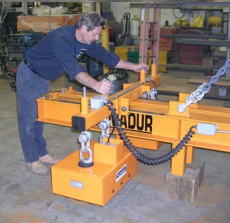 permadur heavy plate handling series 306 operation