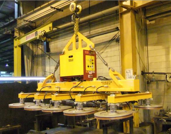 permadur large plate vacuum lifting system series 515