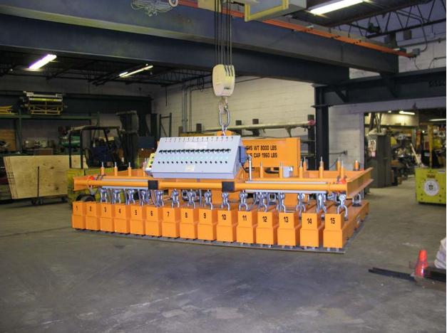 permadur multiple part handling magnet system series 115