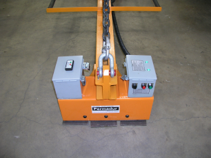 permadur small plate handling series 102 magnet